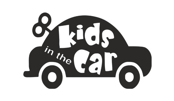 наклейка kids in the car