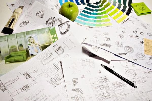 создание дизайна лого