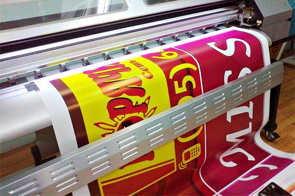 печать плаката