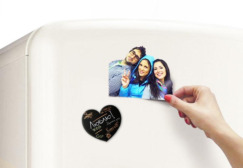 Фотомагниты на холодильник быстро москва