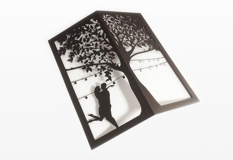 Лазерная резка для открыток