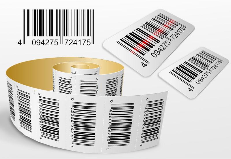 Печать этикеток, наклеек, стикеров