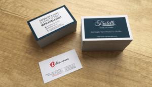 Изготовление визиток - оперативная полиграфия